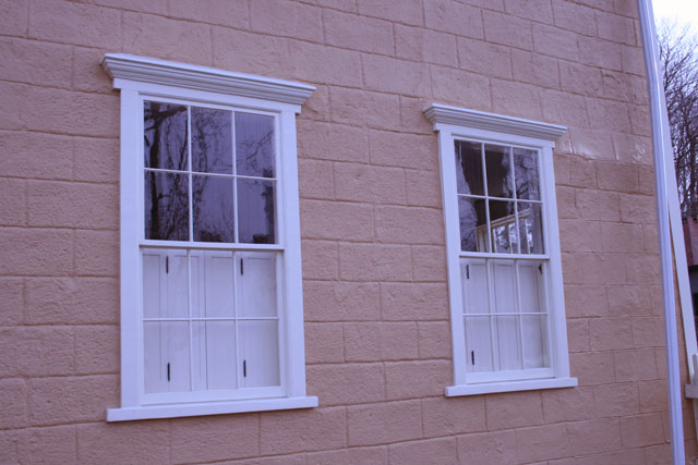 Decorating Colonial Window Trim Inspiring Photos